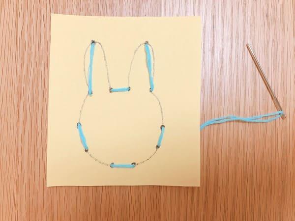 縫いさしうさぎ