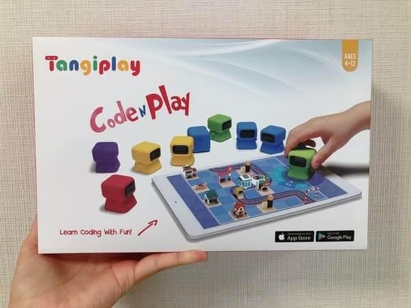 プログラミングおもちゃTangiplay外箱