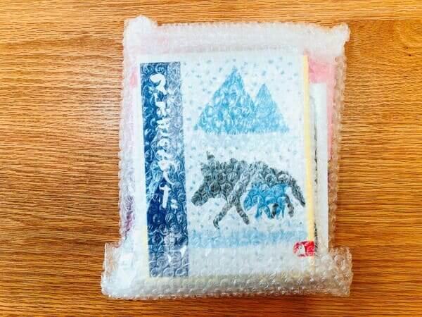 絵本のサブスク梱包